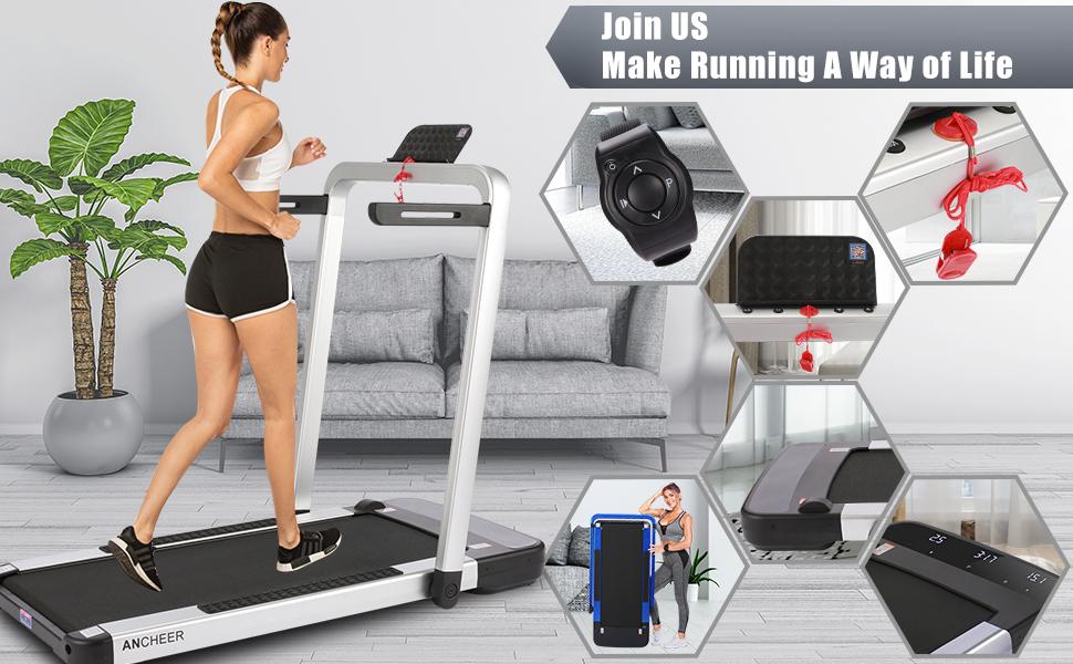 ANCHEER Home Treadmills