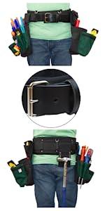 Boulder Bag Ultimate Electrician Comfort Combo ULT104 Leather-tipped Metal Buckle