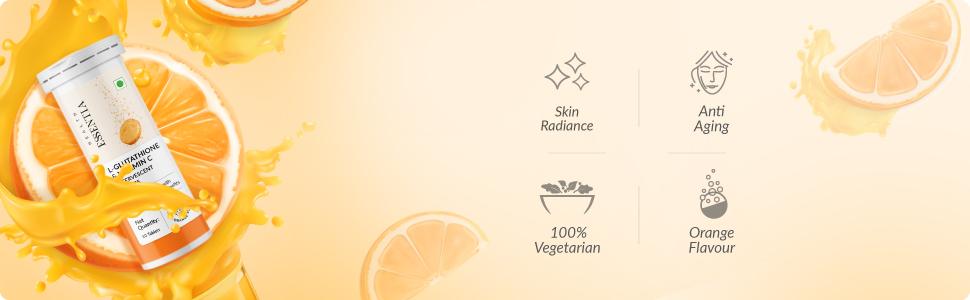 L-Glutathione + Vitamin C Tablet