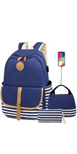 canvas backpack for girl