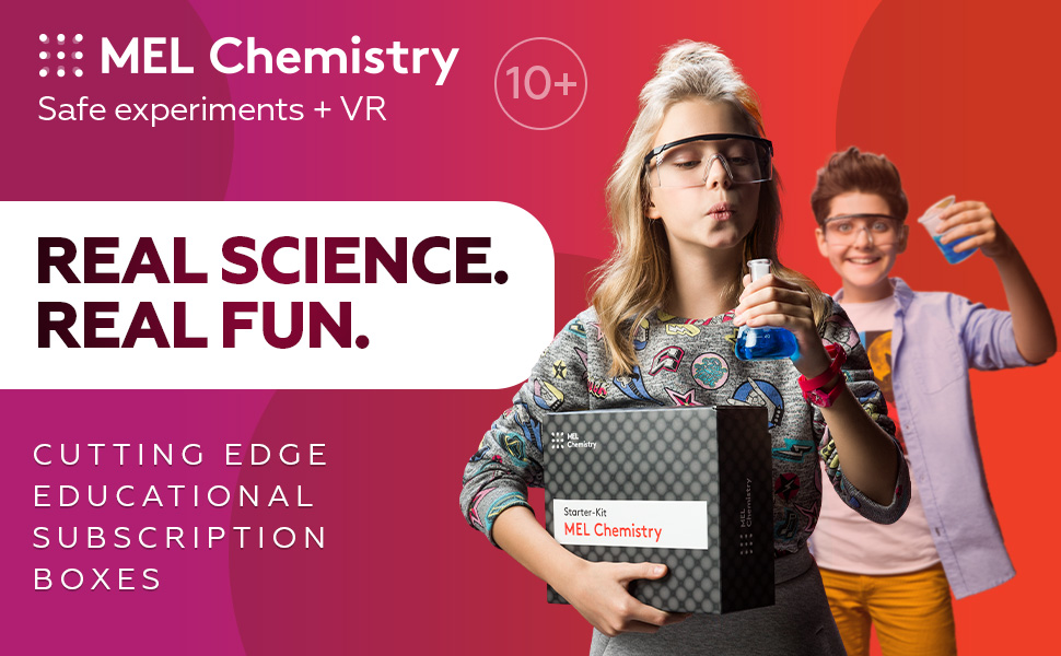 MEL Chemistry experiments kit MEL Science for kids chemistry