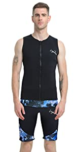 wetsuit shorts running suit shorts diving shorts neoprene shorts men women 3mm neoprene shorts