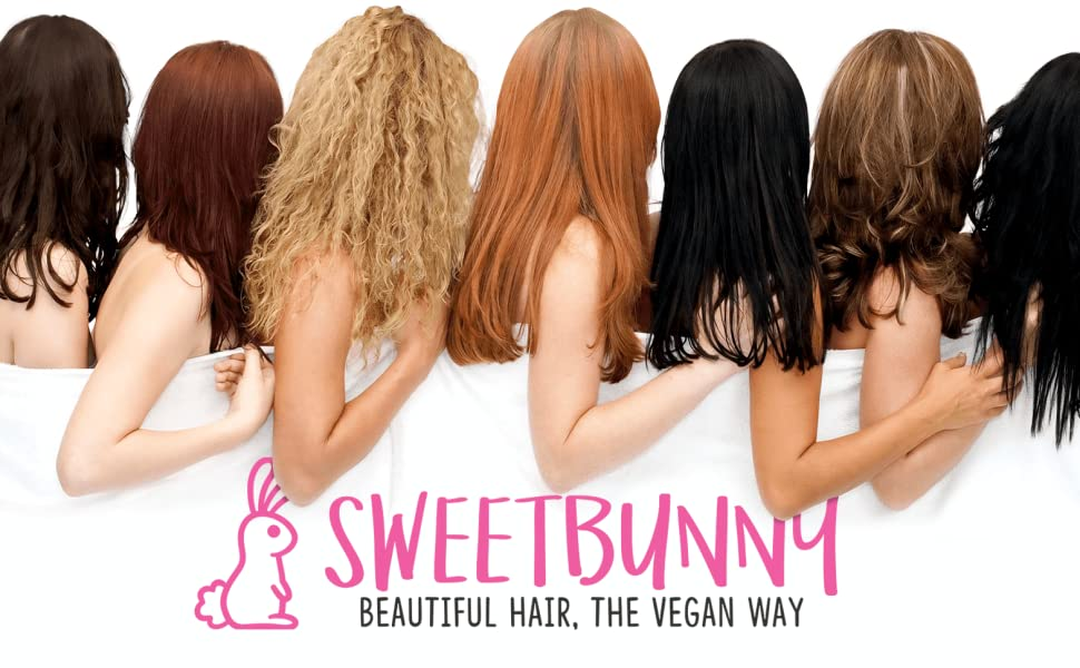 Sweet Bunny Hair different hair types