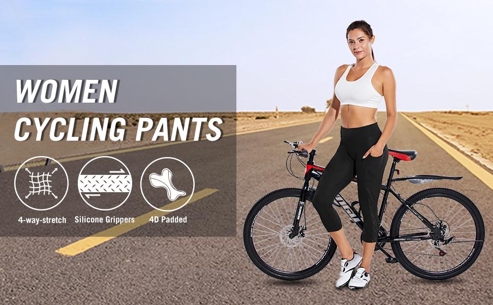Women's 4D Padded Cycling Pants