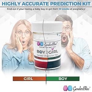 boy or girl he or she pink or blue baby gender test