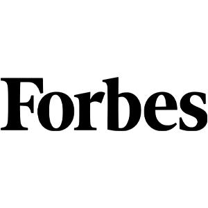 forbes, logo, black, white, review, quote, press