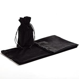 Black Altar Tarot Table Cloth pouch