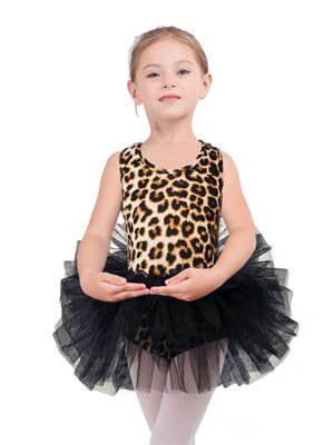 leopard print tutu dress