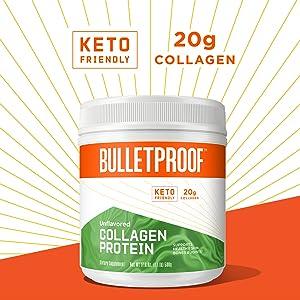 Bulletproof collagen peptides collegen pepetides vital proteins dr axe 20g grassfed