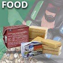EMERGENCY FOOD, SURVIVAL KIT,earthquake kit for disaster preparedness,survival backpack kit