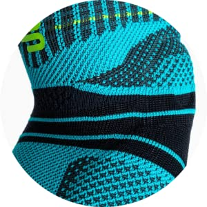 Bauerfeind Sports Elbow Brace 3D AIRKNIT technology for maximum breathability and comfort