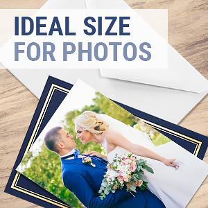 graduation thank you cards 4x6 photo size bulk blank business envelopes 100 count wedding foil navy