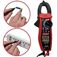 AC DC voltage measurement clamp meter multimeter