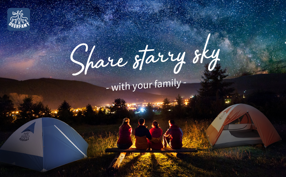 Enjoy Family Camping Time