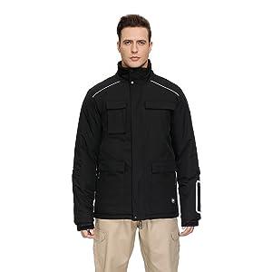 Windproof Snow Fleece Rain Jacket