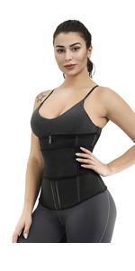 Sports Bra + Waist Trimmer + Waist trainer Vest
