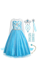 ReliBeauty M/ädchen Kleider Paillette Prinzessin Kleid Einfarbig /Ärmellos Rose Muster Blumen Kleid Cosplay Kost/üme