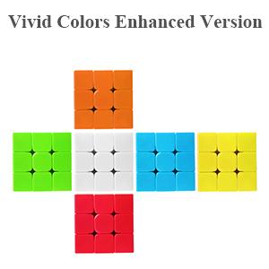ROXENDA Cubo de Velocidad Bundle Moyu 2x2 3x3 4x4 5x5 Stickerless Brillante Cubo Magico Liso Puzzles Cube Set con Embalaje de Regalo (Cubo de Velocidad Bundle): Amazon.es: Juguetes y juegos