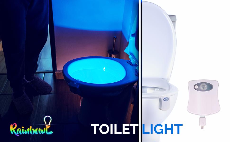 RainBowl Toilet Light