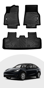 VIWIK Floor Mats for Tesla Model Y