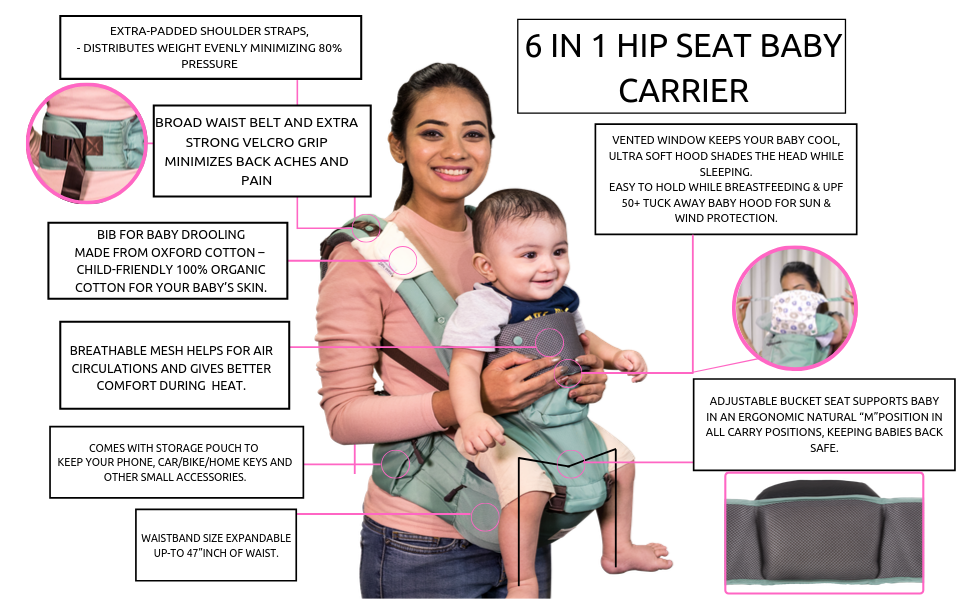 Hip seat baby carrier baby carrier for boy baby carrier for girl baby carrier for 0 to 3 years hip