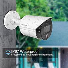 4mp dahua ip camera security camera  poe bullet outdoor with SD Card IP67 Weatherproof ONVIF