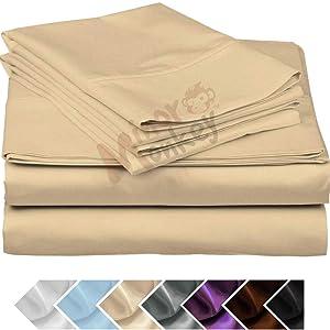 egyptian cotton queen sheets