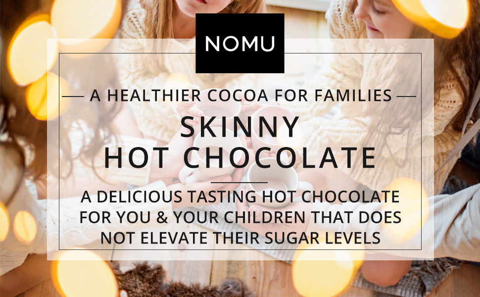 a healthy hot chocolate for families kids
