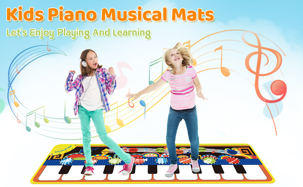 Kids Piano Musical Mats