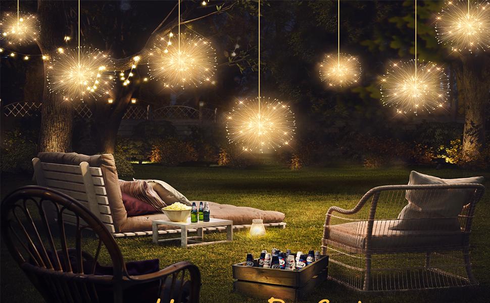string lights outdoor waterproof