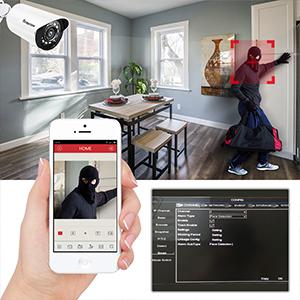 Intelligent Face Detection & Video Lost Alert