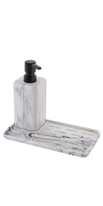 Soap Dispenser with Tray
