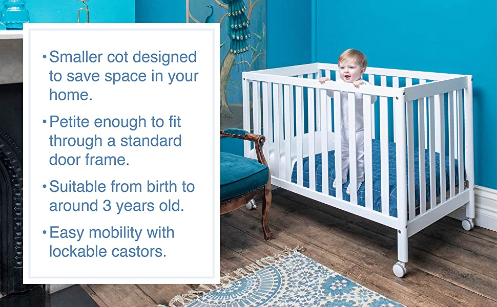 Boori Heron Compact Cot product features