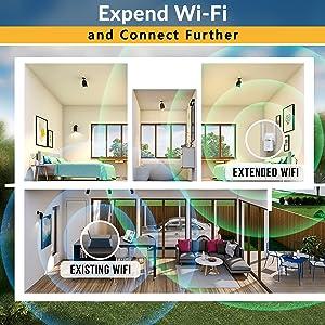 wifi extender range signal booster for home wifi repater tplink netgear router