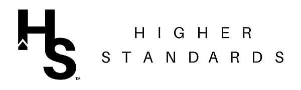 higher standards logo amazon