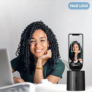 smart face tracking holder
