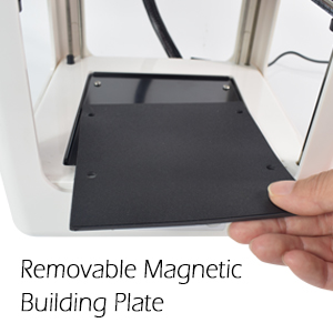 removable building plate