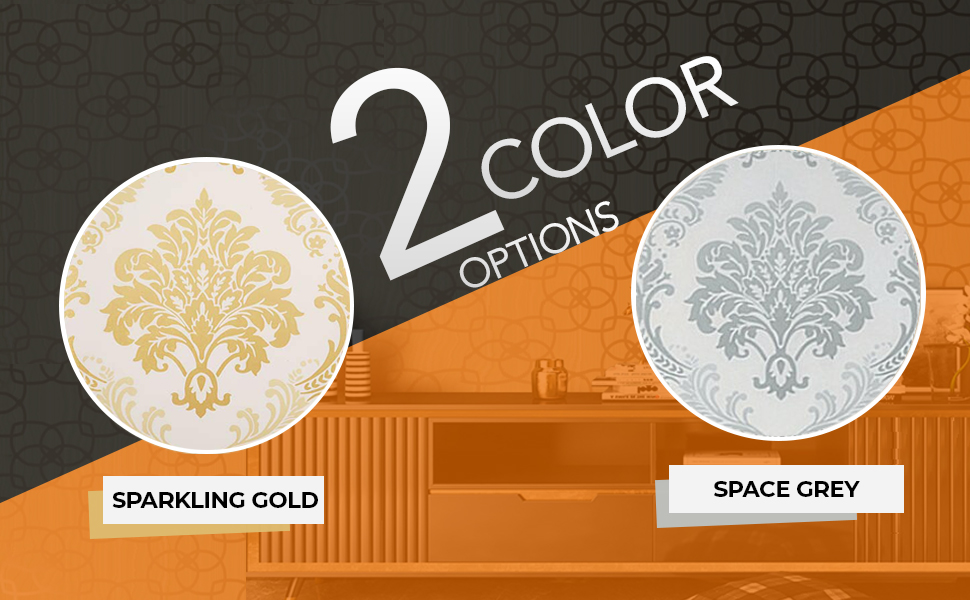 damask color options