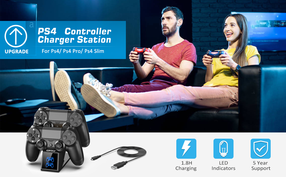 ps4 controller charger dock station
