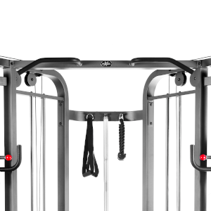 Split grip pull-up bar on the XMark functional trainer
