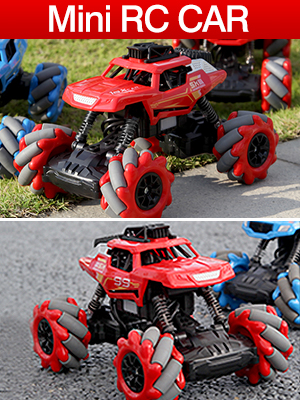 Double Sided Fast Off Road Stunt Mini Rc Cars For Boys And Girls Red Jdbaby Mini Remote Control Car For Boys Rc Flip Car Crawlers Toys Games