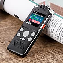 Rechargeable Audio Recorder