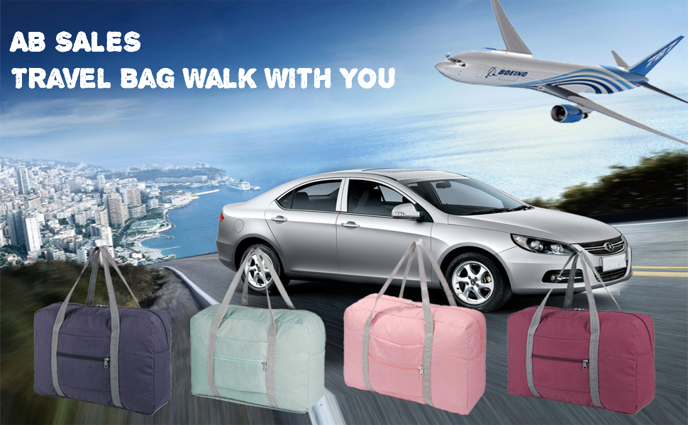 Travel bag walk with you