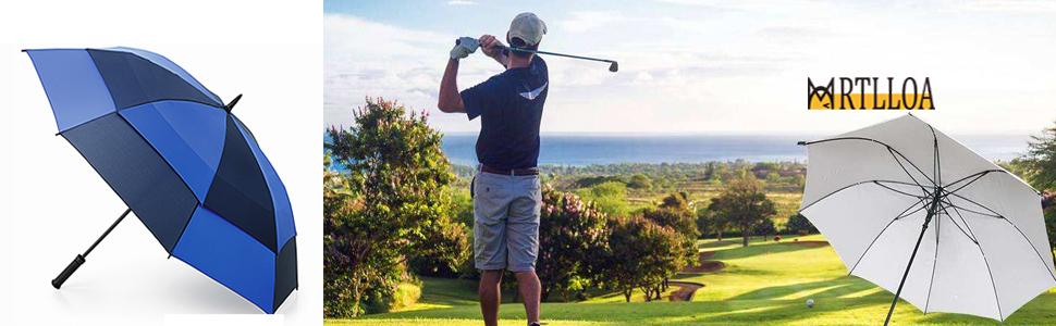 MRTLLOA Automatic Open Golf Umbrella