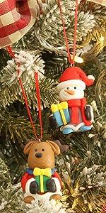 Assorted Figurine Ornaments