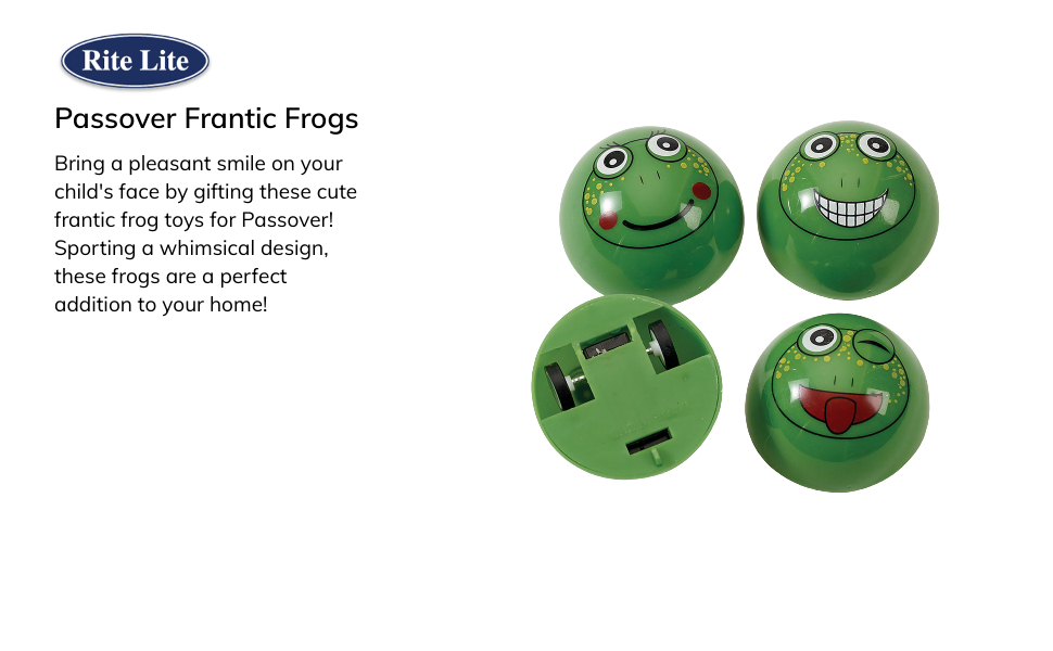 Frantic frogs passover