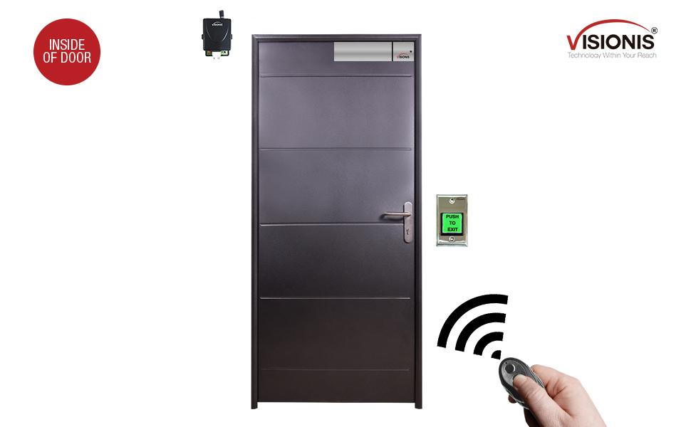magnetic door lock hidden electromagnetic rfid magnet mag maglock remote system electric locks