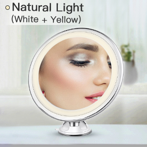 makeup mirror with magnifyling