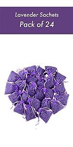 Home Fragrance Sachet, Pack of 24