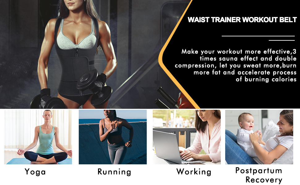 Workout Belt for Weight Loss